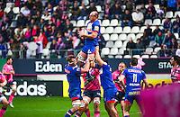 Ben HAND - 14.03.2015 - Stade Francais / Grenoble -  20eme journee de Top 14<br /> Photo : David Winter  / Icon Sport<br /> <br />   *** Local Caption ***