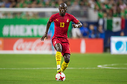 June 28, 2017: Ghana midfielder Issac Sackey (13) controls the ball during the 1st half of an international soccer friendly match between Mexico and Ghana at NRG Stadium in Houston, TX. ..Trask Smith/CSM(Credit Image: © Trask Smith/CSM via ZUMA Wire)