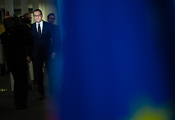 28.11.2017, Ausweichquartier Parlament, Wien, AUT, Koalitionsverhandlungen von ÖVP und FPÖ anlässlich der Nationalratswahl 2017, im Bild FPÖ-Chef Heinz-Christian Strache // Head of the Austrian Freedom Party (FPOe) Heinz-Christian Strache during coalition negotiations between the Austrian Peoples Party and Austrian Freedom Party due to general elections 2017 in Vienna, Austria on 2017/11/28, EXPA Pictures © 2017, PhotoCredit: EXPA/ Michael Gruber