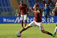 Francesco Totti Roma.<br /> Roma 20-09-2015 Stadio Olimpico, Football Calcio 2015/2016 Serie A.AS Roma - Sassuolo  Foto Antonietta Baldassarre / Insidefoto