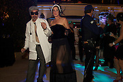26 October 2013-Santa Barbara, CA: Fred & Gale's Grand Finale Halloween Bash 2013 in the Rivieria foothills of Santa Barbara, CA.  Photo By Rod Rolle