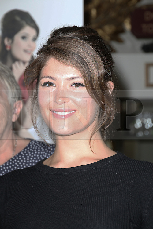 © Licensed to London News Pictures. 17/06/2014, UK. Gemma Arterton; Rupert Goold; 1968 Ford Dagenham Machinist's Strikers - Vera Sime; Gwen Davis; Sheila Douglas; Eileen Pullen - Made In Dagenham The Musical - Launch Photocall, Playhouse Theatre, London UK, 17 June 2014,. Photo credit : Richard Goldschmidt/Piqtured/LNP