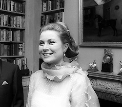PRINCESS GRACE OF MONACO at a fashion show in Henley on Thames, UK on April 28th 1972.