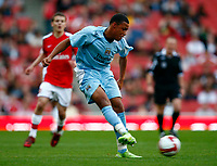 Reece Wabara of Man City  FA Cup Youth Semi-Final 2nd Leg <br /> Arsenal Youth v Manchester City Youth at  Emirates Stadium London<br /> 22/04/2009. Credit Colorsport /  Kieran Galvin