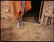 Samburu Feet Home, Kenya, July, 2002