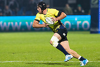 Dorin Manole of Romania runs during their  rugby test match between Romania and USA, on National Stadium Arc de Triomphe in Bucharest, November 8, 2014.  Romania lose the match against USA, final score 17-27.