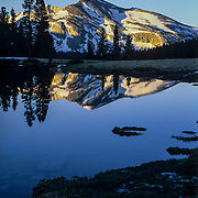 United States, West, CA, California<br /> Mammoth Peak in the high country of Yosemite National Park, CA.