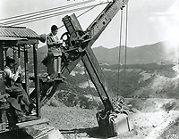1923 Publicity photo during the early development of Hollywoodland