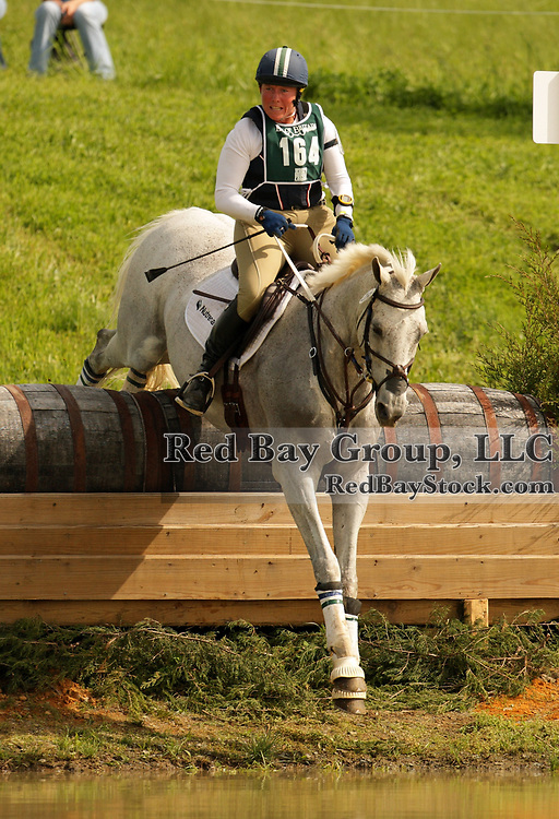 Becky Holder and Courageous Comet at the 2009 Jersey Fresh CCI in Allentown, New Jersey.