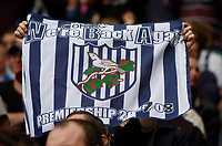 Photo: Leigh Quinnell.<br /> West Bromwich Albion v Barnsley. Coca Cola Championship. 06/05/2007. A flag in the crowd tells the story.