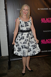 August 29, 2018 - New York, NY, USA - August 29, 2018  New York City..Catherine Dyer attending 'An Actor Prepares' film premiere on August 29, 2018 in New York City. (Credit Image: © Kristin Callahan/Ace Pictures via ZUMA Press)