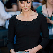 """London, Leicester Square  July 30th Mary Elizabeth Winstead arrives  at the uk film premiere of """"The X Files I want to believe"""" at the Empire Cinema in Leicester Square"""