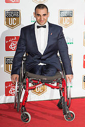 © Licensed to London News Pictures . 27/03/2014 . Manchester , UK . Ali Jawad arrives at a gala dinner at Manchester United Football Club in support of United for Colitis , in aid of Crohn's And Colitis UK . Photo credit : LNP