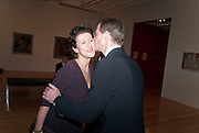MELANIE CLORE; SIR NICHOLAS SEROTA, Picasso and Modern British Art, Tate Gallery. Millbank. 13 February 2012