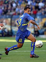 Fotball<br />Argentina 2003/2004<br />12/10/03 BOCA JUNIORS (2) Vs ATLETICO RAFAELA (0) - Football - Argentina<br />Ninth match of the Torneo Apertura 2003<br />PEDRO IARLEY<br />Foto: Digitalsport
