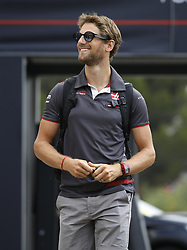 June 23, 2018 - Le Castellet, France - Motorsports: FIA Formula One World Championship 2018, Grand Prix of France, ..#8 Romain Grosjean (FRA, Haas F1 Team) (Credit Image: © Hoch Zwei via ZUMA Wire)