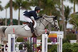 Schott Callie (USA) - Wrigley<br /> Horseware GP CSI 2*<br /> Wellington 2012<br /> © Hippo Foto - Cealy Tetly