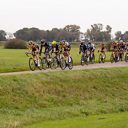 ZWOLLE (NED) CYCLING OCTOBER 16th <br /> 61e Ster van Zwolle: <br /> Strijd richting Genemuiden