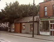 Old amateur photos of Dublin July 1983 WITH Phibsboro Shops, Gibney's Malahide, Coast Road Malahide, Portmarnock coast road, Fagans Pub Botanic Avenue, Lusk, Gresham Hotel Entrance