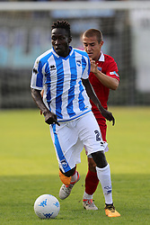 July 25, 2017 - Avezzano, AQ, Italy - Mamadou Coulibaly of Pescara Calcio 1936 in action during the Pre-Season 2017/2018 Friendly Match Pescara Calcio 1936 v Teramo Calcio 1913, at Dei Marsi Stadium on July 25, 2017 in Avezzano, Italy  (Credit Image: © Danilo Di Giovanni/NurPhoto via ZUMA Press)