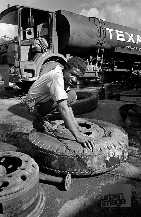 Port Antonio Texaco Gas Station - Port Antonio Jamaica 1973