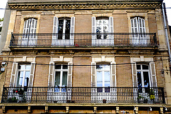Typical French architecture in Toulouse, France<br /> <br /> (c) Andrew Wilson | Edinburgh Elite media