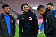 Huddersfield Town players ahead of the Premier League match between Bournemouth and Huddersfield Town at the Vitality Stadium, Bournemouth, England on 4 December 2018.
