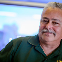 New Mexico state director for the Sheet Metal Air Rail and Transportation Workers union is campaigning through the state on behalf of railroad workers.