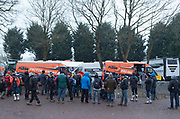 The KTM setup was light and efficient. They brought very little with them, and won everyting.