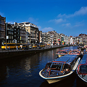 Water channels..Amsterdam, Holland.