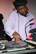 DJ Spinna at The 11th Annual Tribute to the Wonders of Stevie, Wonderfull Party on May 16, 2009 held at BK Studio Lofts in Brooklyn, NY..The Annual Tribute to The Legendary Stevie Wonder, The Wonderfull Party produced by Keistar Productions with the sought after music producer duo, DJ Spinna and Bobbito aka Cucumber Slice rock the house in Brooklyn, NY. The BK Studio Lofts were packed to the rafters will Stevie Wonder fans, who were soulfully delighted with the customed designed sounds of Spinna and Bobbito, who subjected the crowds to a variety of Stevie Wonder written imprints and vocally driven tracks that have covered the span of the singers' career. What a beautiful way to begin your summer!