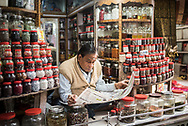 Market stall, Varanasi, Uttar Pradesh, India