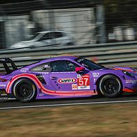 #57, Porsche 911 RSR, Team Project 1, drivers: Jeroen Bleekemolen, Felipe Fraga, Ben Keating, LM GTE Am, at the Le Mans 24H, 2020