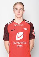 Fotball , Eliteserien 2018 , portrett , portretter ,  Brann<br /> Nicholas Marthinussen