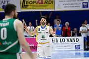 Atsur Engin<br /> Betaland Capo d'Orlando - Sidigas Avellino <br /> Campionato Basket Lega A 2017-18 <br /> Capo d'Orlando 22/04/2018<br /> Foto Ciamillo-Castoria