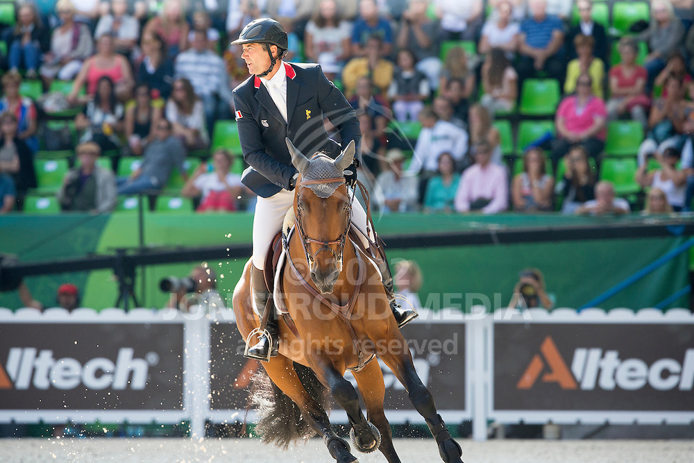 Patrice Delaveau, (FRA), Orient Express HDC - First Round Team Competition Jumping Speed - Alltech FEI World Equestrian Games™ 2014 - Normandy, France.<br /> © Hippo Foto Team - Leanjo De Koster<br /> 03-09-14