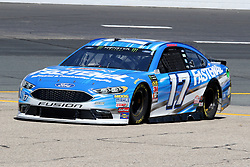July 20, 2018 - Loudon, NH, U.S. - LOUDON, NH - JULY 20: Ricky Stenhouse Jr., driver of the #17 Fastenal Ford during  practice for the Monster Energy Cup Series Foxwoods Resort Casino 301 race on July, 20, 2018, at New Hampshire Motor Speedway in Loudon, NH. (Photo by Malcolm Hope/Icon Sportswire) (Credit Image: © Malcolm Hope/Icon SMI via ZUMA Press)