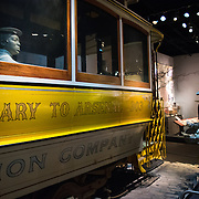 The Smithsonian National Museum of American History focuses on United States political, social, and cultural history. It is one of several Smithsonian Institution museums located on or near the National Mall in Washington DC.