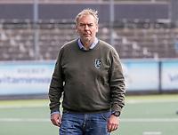 AMSTELVEEN - Coach Albert Kees Manenschijn (Rotterdam) voor de competitie hoofdklasse hockeywedstrijd heren, Amsterdam -Rotterdam (2-0) .  COPYRIGHT KOEN SUYK