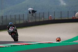 June 1, 2018 - Mugello, FI, Italy - Johann Zarco of Monster Yamaha Tech 3 during the Free Practice 1 of the Oakley Grand Prix of Italy, at International  Circuit of Mugello, on June 01, 2018 in Mugello, Italy  (Credit Image: © Danilo Di Giovanni/NurPhoto via ZUMA Press)