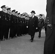 Passing out parade of new Gardaí..14.04.1961