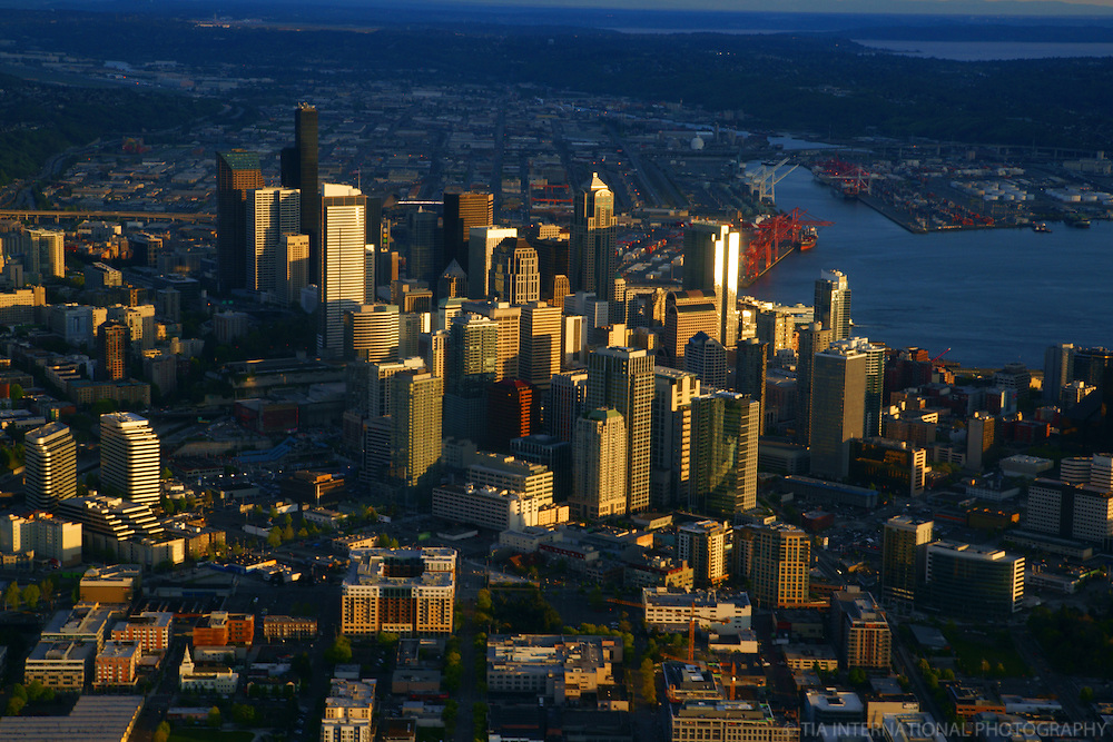 Downtown Seattle & Port of Seattle