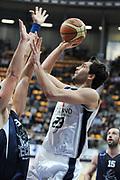 DESCRIZIONE : Bologna LNP DNB Adecco Silver GironeA 2013-14 Fortitudo Bologna Basket Cecina<br /> GIOCATORE : Pederzini Riccardo <br /> SQUADRA : Fortitudo Bologna <br /> EVENTO : LNP DNB Adecco Silver GironeA 2013-14<br /> GARA :  Fortitudo Bologna Basket Cecina <br /> DATA : 05/01/2014<br /> CATEGORIA : Tiro<br /> SPORT : Pallacanestro<br /> AUTORE : Agenzia Ciamillo-Castoria/A.Giberti<br /> Galleria : LNP DNB Adecco Silver GironeA 2013-14<br /> Fotonotizia : Bologna LNP DNB Adecco Silver GironeA 2013-14 Fortitudo Bologna Basket Cecina<br /> Predefinita :