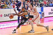 DESCRIZIONE : Varese Lega A 2014-15 Openjobmetis Varese Upea Capo d'Orlando<br /> GIOCATORE : Campbell Folarin<br /> CATEGORIA : Palleggio Penetrazione<br /> SQUADRA : Upea Capo d'Orlando<br /> EVENTO : Campionato Lega A 2014-2015<br /> GARA : Openjobmetis Varese Upea Capo d'Orlando<br /> DATA : 26/04/2015<br /> SPORT : Pallacanestro<br /> AUTORE : Agenzia Ciamillo-Castoria/M.Ozbot<br /> Galleria : Lega Basket A 2014-2015 <br /> Fotonotizia: Varese Lega A 2014-15 EA7 Openjobmetis Varese Upea Capo d'Orlando