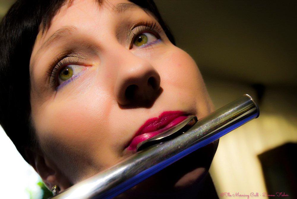 Portrait of flutist Jane Nester of Center Valley, Pa..<br /> - Photography by Donna Fisher<br /> - ©2020 - Donna Fisher Photography, LLC <br /> - donnafisherphoto.com