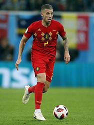 Toby Alderweireld of Belgium during the 2018 FIFA World Cup Semi Final match between France and Belgium at the Saint Petersburg Stadium on June 26, 2018 in Saint Petersburg, Russia