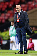 Russia Manager Stanislav Cherchesov  during the UEFA European 2020 Qualifier match between Scotland and Russia at Hampden Park, Glasgow, United Kingdom on 6 September 2019.