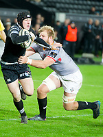 Rugby Union - 2017 / 2018 Guinness Pro14 - Ospreys vs. Southern Kings<br /> <br /> Sam Davies of Ospreys,  attacks , at the Liberty Stadium.<br /> <br /> COLORSPORT/WINSTON BYNORTH