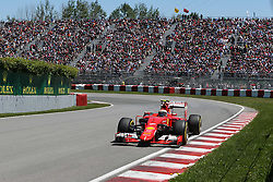 06.06.2015, Circuit Gilles Villeneuve, Montreal, CAN, FIA, Formel 1, Grand Prix von Kanada, Qualifying, im Bild Kimi Raikkonen (FIN) Ferrari SF15-T // during Qualifyings of the Canadian Formula One Grand Prix at the Circuit Gilles Villeneuve in Montreal, Canada on 2015/06/06. EXPA Pictures © 2015, PhotoCredit: EXPA/ Sutton Images/ Mirko Stange<br /> <br /> *****ATTENTION - for AUT, SLO, CRO, SRB, BIH, MAZ only*****