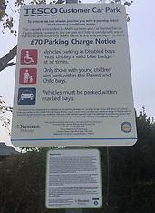 Tesco Parking Rules